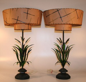 333H Mid Century Modern Lamps