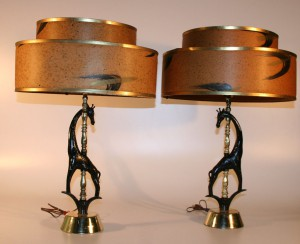 142H Mid Century Modern Lamps