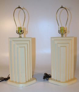 175H Art Deco Lamps