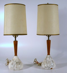 144L Mid Century Modern Lamps